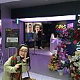 片桐仁さんの個展と妻 笹野鈴々音