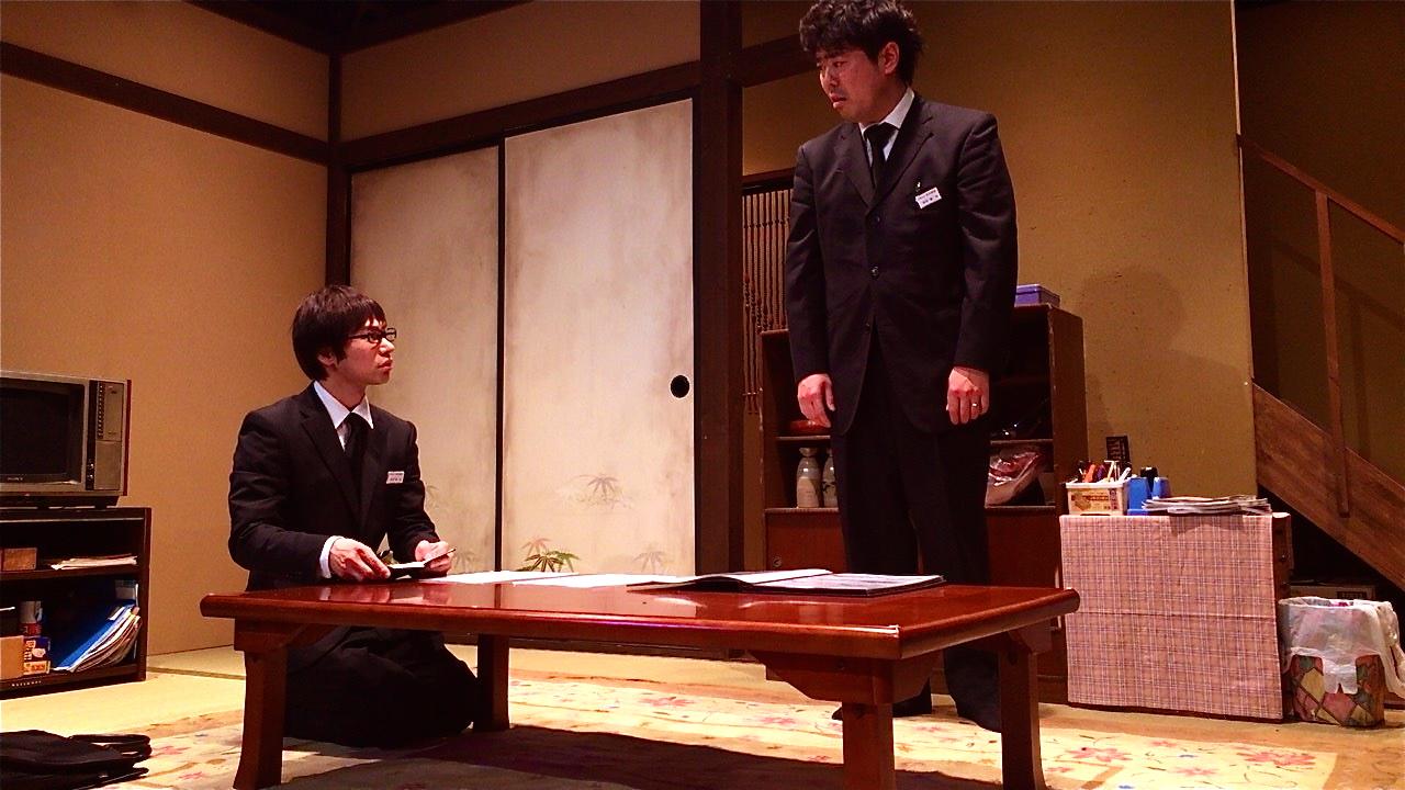 「ゼブラ」舞台写真 伊藤俊輔 山口森広