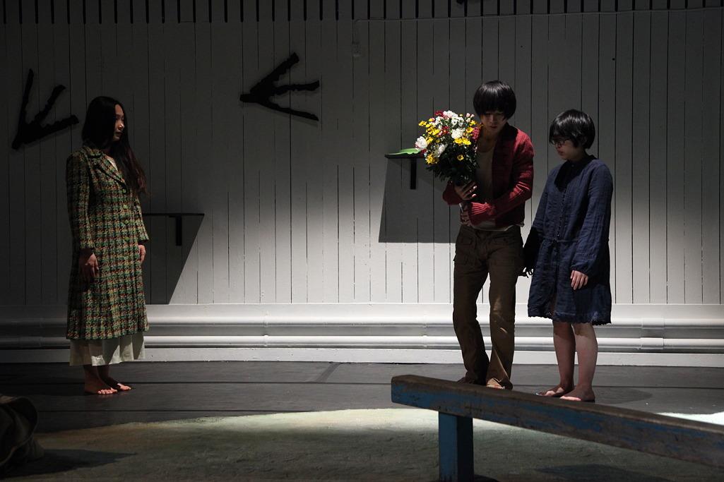 鳥取にて 鳥公園「家族アート」舞台写真