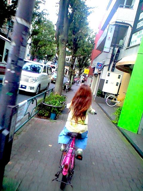 妻と自転車 笹野鈴々音