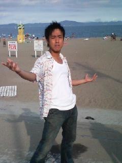 昨日は海へ