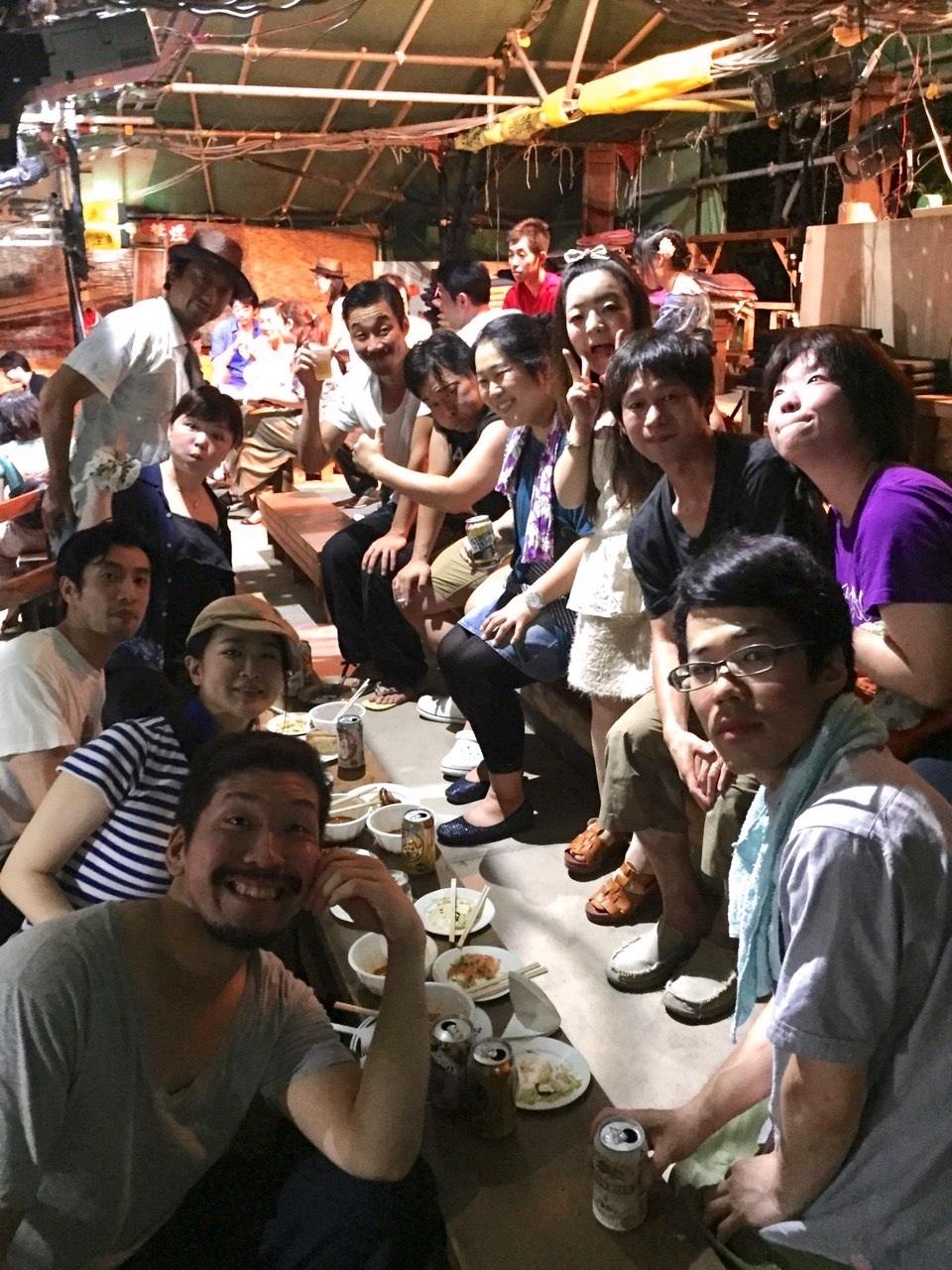 椿組野外劇「幕末太陽伝」