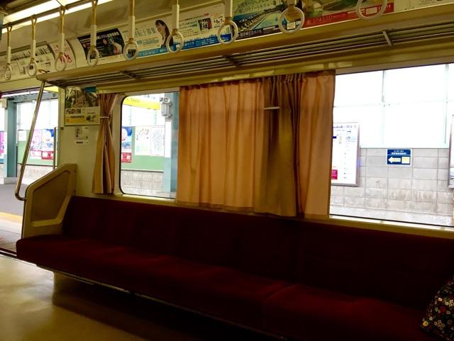 カーテン列車