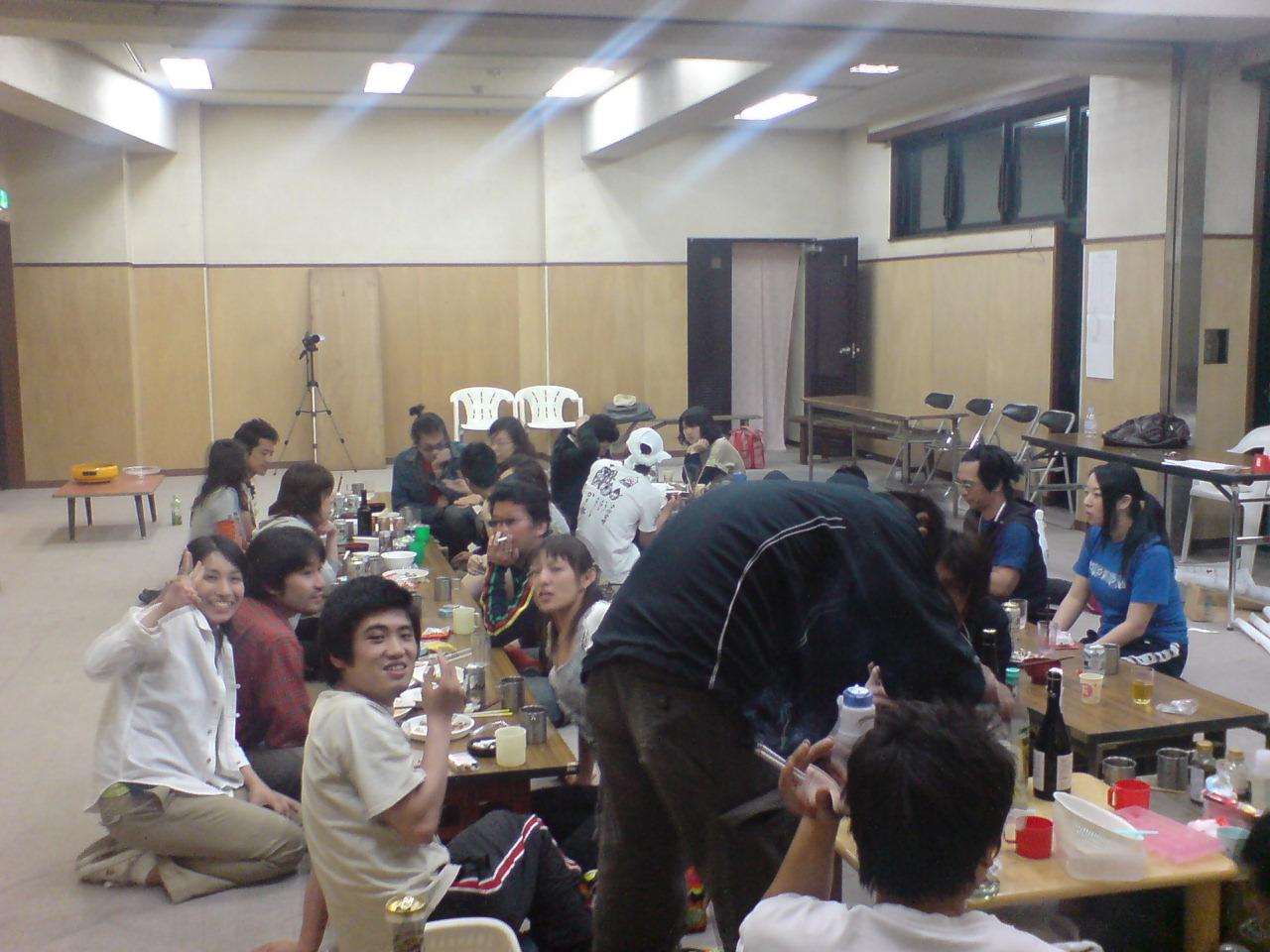 椿組『花火、舞い散る』顔合わせ